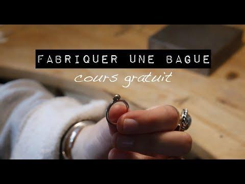 Agnes Bijouterie Cours gratuit Créer une bague