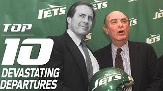 Top 10 Devastating Departures | NFL Films