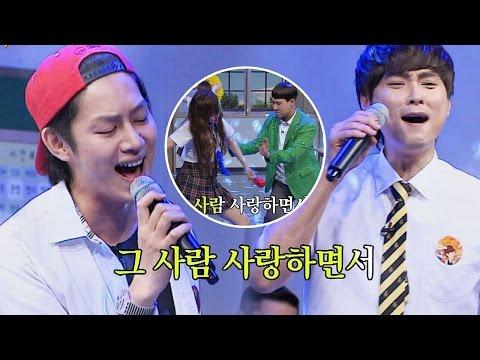 [듀엣가요] 김희철(Kim Hee Chul)&민경훈(Min Kyung Hoon) '안되나요' ♪ (+) 애절한 꿈틀이 둘 아는 형님(Knowing bros) 38회