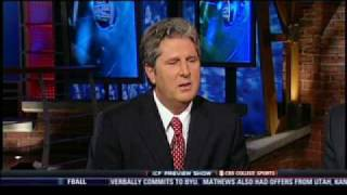 Mike Leach on CBS College Sports' Inside College Football