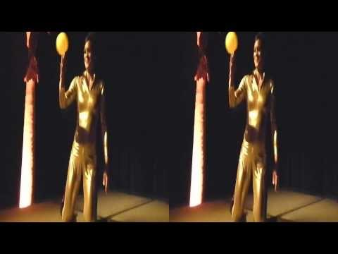 Hula Hoop Dancer @ Gold Party Dreamforce (YT3D:Enable=True)