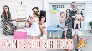 EMMI'S 3RD BIRTHDAY AND PARTY PREP | DIY MINIONS BIRTHDAY PARTY | Simply Allie