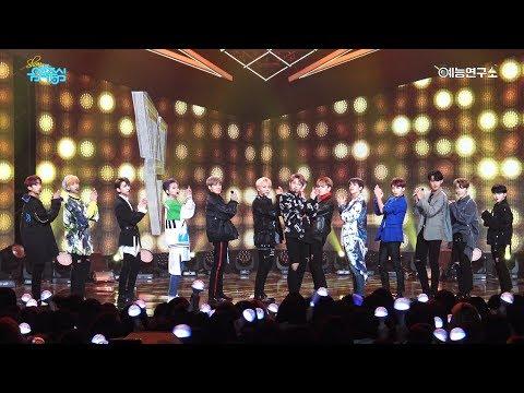 [예능연구소 직캠] 세븐틴 박수 (Remix Ver.) @쇼!음악중심_20171209 Clap (Remix Ver.) SEVENTEEN in 4K