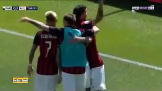 ملخص مباراة ميلان وبارما 1-1  الدوري الايطالي  تعادل الميلان ...