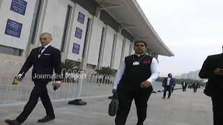 Nara Lokesh attending World Economic Forum at China..