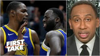 Stephen A. reacts to Draymond Green sounding off on Kevin Durant's free agency | First Take