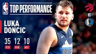 Luka Doncic Makes HISTORY With 30 Point Triple-Double | January 27, 2019