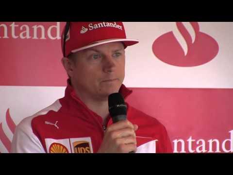 Kimi Räikkönen på Rudskogen