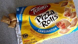 60+ Pizza Rolls Eaten in 1 Minute | Matt Stonie