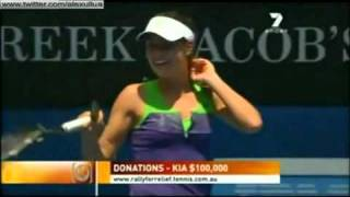 ana ivanovic vs andy roddick funny point-Rally for Relief