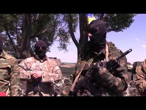 Бывшие сепаратисты Славянска сейчас сотрудничают с украинскими военными