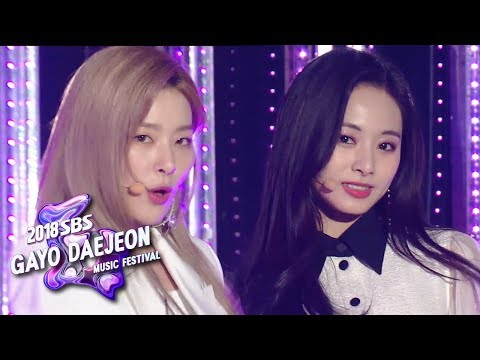 Red Velvet + TWICE - Dreams Come True [2018 SBS Gayo Daejeon Music Festival]