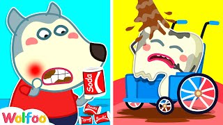 Don't Drink Too Much Soda - Wolfoo Learns Healthy Habits   Wolfoo Family Kids Cartoon