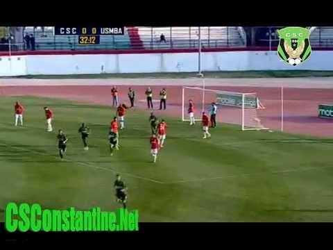 Coupe d'Algérie CSC 1 - USMBA 0 : Le but de Sameur