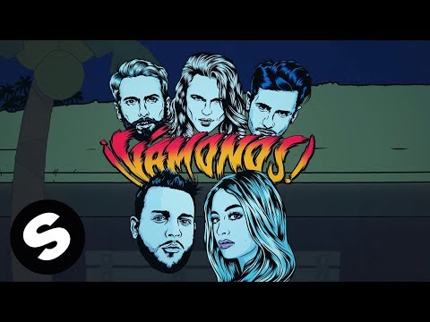 Kris Kross Amsterdam x Ally Brooke x Messiah - Vámonos (Official Lyric Video)