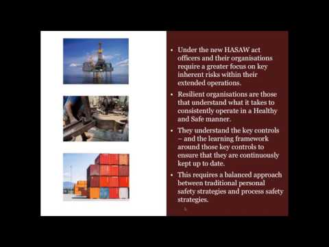 Health & Safety Update: Managing risk, compliance and accountability in the workplace