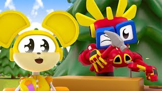 Animal Mechanicals NEW Series | Episode 8: Building A Treehouse | Cartoon Shows for Toddlers