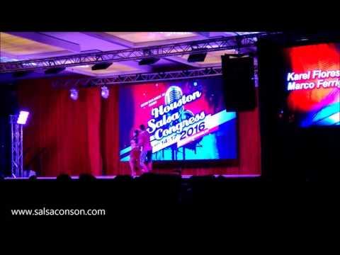 Karel Flores y Marco Ferrigno Performance at Houston Salsa Congress 2016