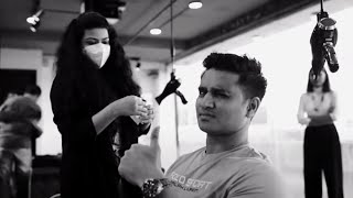 Tollywood actor Nikhil Siddharth Ad photoshoot making vide..