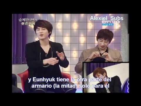 Super Junior - Eunhyuk no quiere que Kyuhyun le vuelva a decir... [sub español]