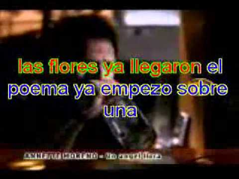 Un Angel Llora karaoke.mpg