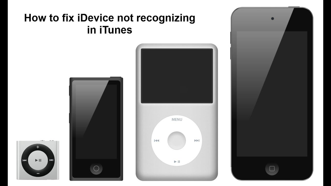 itunes not recognizing iphone how to fix i device not recognizing in itunes 15587