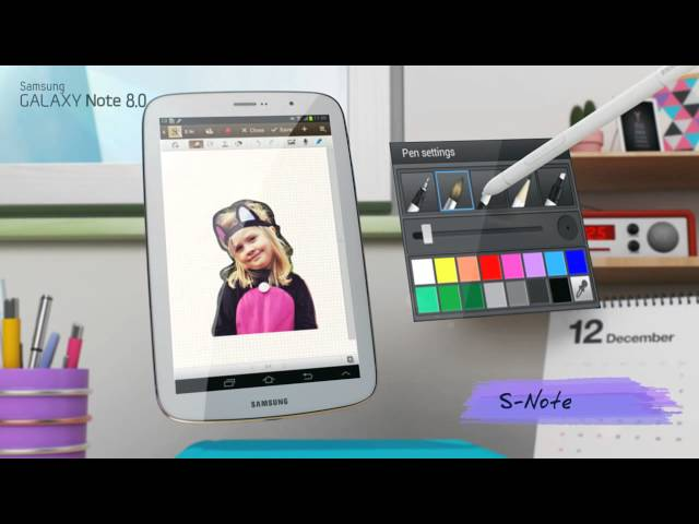 samsung galaxy note 8 0 3g 16gb bianco tablet android. Black Bedroom Furniture Sets. Home Design Ideas