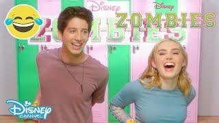 Z-O-M-B-I-E-S | Brain Food Challenge #1 🧠🍽| Official Disney Channel UK