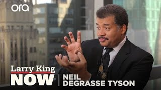 Neil deGrasse Tyson: If Earth Stopped Rotating For a Second   Larry King Now - Ora.TV
