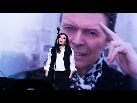 David Bowie Tribute l The BRIT Awards 2016