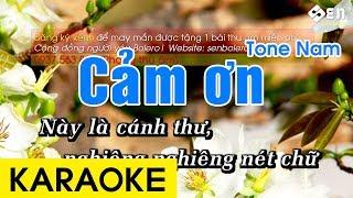 Cảm Ơn Karaoke Beat - Tone Nam