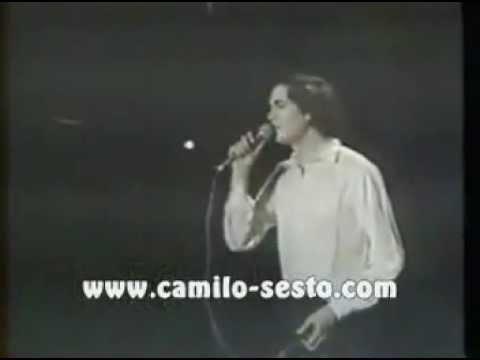 Emocionante!!! Camilo Sesto llora al cantarle a su madre Perdóname, 1982