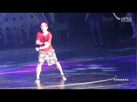 [sehun35] 140613 Luhan solo rehearsal