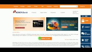 Add Payee | ICICI Net banking | Funds transfer | Savings account |