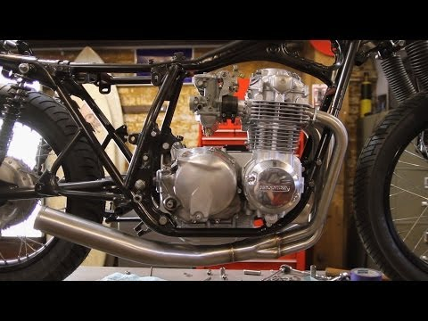 Motorcycle Restoration Part 6: Engine Install