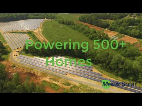 The power generated from this 5 mega-watt solar array will be enough to power 500 homes annually. Bill Parrish, the Vice President of Rock Barn Properties, explains the story behind their decision to go green with solar energy.