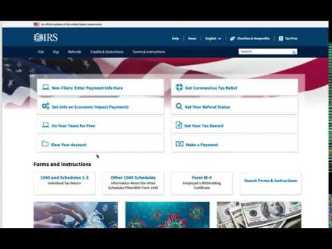Waiting for Stimulus Check? Here's how to check status on the IRS website.