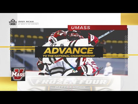 UMass vs. Minnesota Duluth - 2021 Frozen Four semifinal highlights
