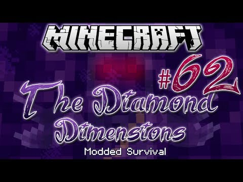 """SPACE WORKSHOP""   Diamond Dimensions Modded Survival #62   Minecraft - Smashpipe Games"