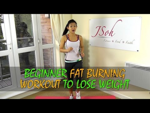 beginner fat burning workout to lose weight in 4 weeks