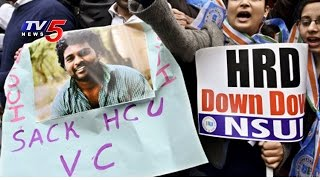 NSUI activists mob Union HRD office; protest against VC..
