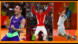 THE BEST of badminton (TRICK SHOTS, CRAZY RALLIES, FUNNY MOMENTS)  *2016-2017*