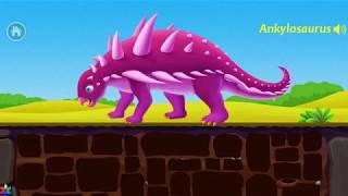 Dinosaur Park  - Jurassic Dig, Kids Learn Dinosaur Fun Educational Games For Kids