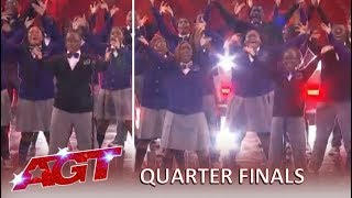 Detroit Youth Choir: Terry Crew's Golden Buzzer Brings The House Down!  America's Got Talent 2019