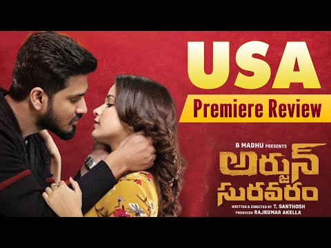 Arjun Suravaram || USA Premiere Review