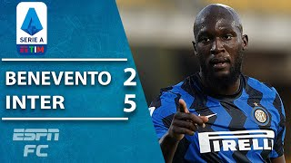 Romelu Lukaku scores FASTEST Inter goal since 2004 in 7-goal thriller | ESPN FC Serie A Highlights