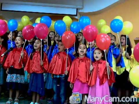 coro infantil culto misionero