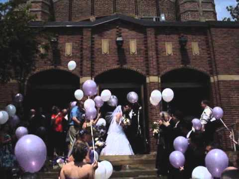 Carla & Andrew's  Balloon Release