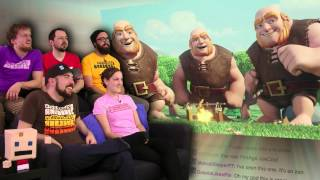 Clash of Clans Commercials! - Show and Trailer Pre PAX South 2015! - Part 51