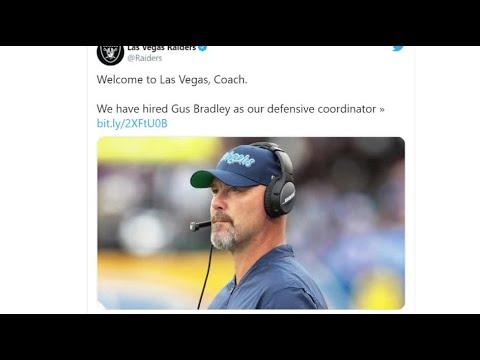 Las Vegas Raiders hire Gus Bradley